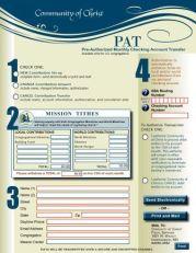 PAT Form